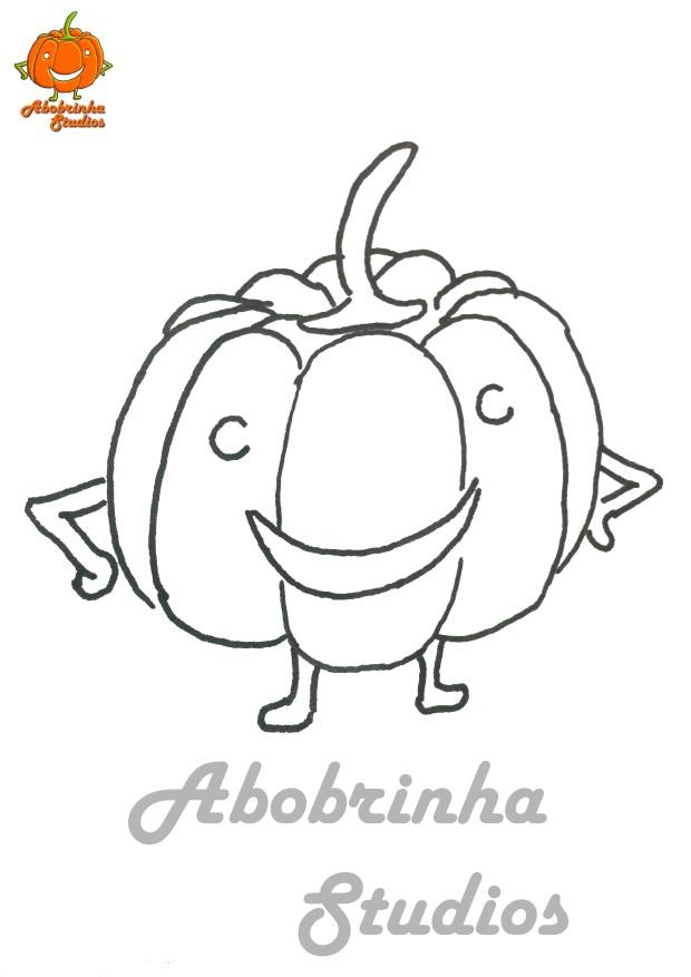 Abobrinha Studios colorir