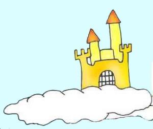 castelo nas nuvens