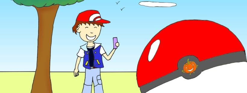 ilustração-menino-caçando-pokemon