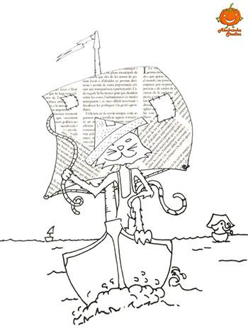 desenho-para-colorir-gato-jorel