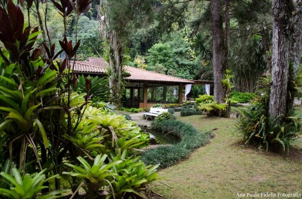 Jardim-restaurante